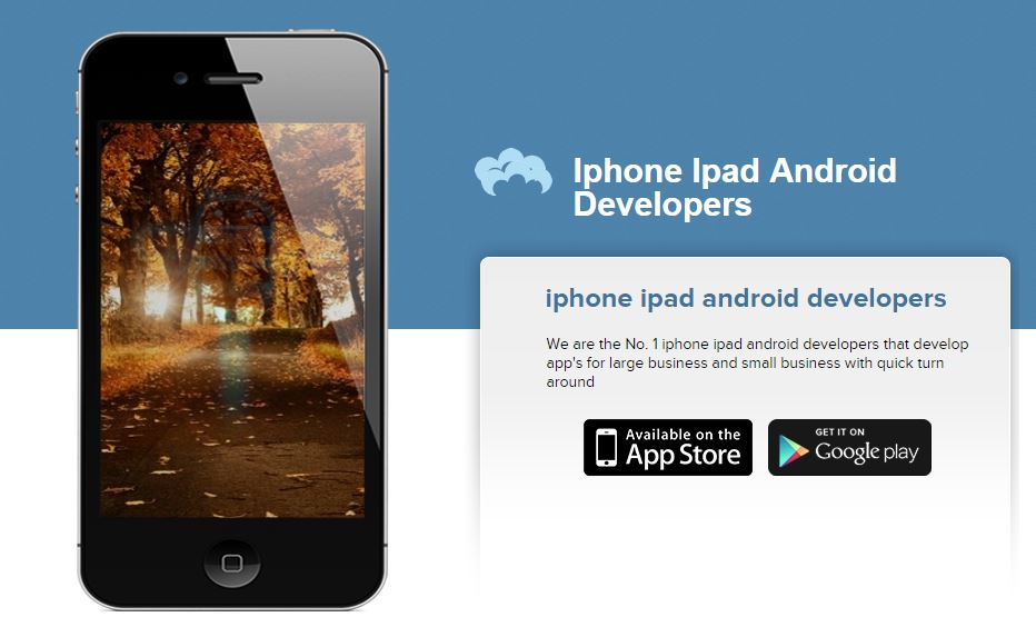 Iphone Ipad Android Developers